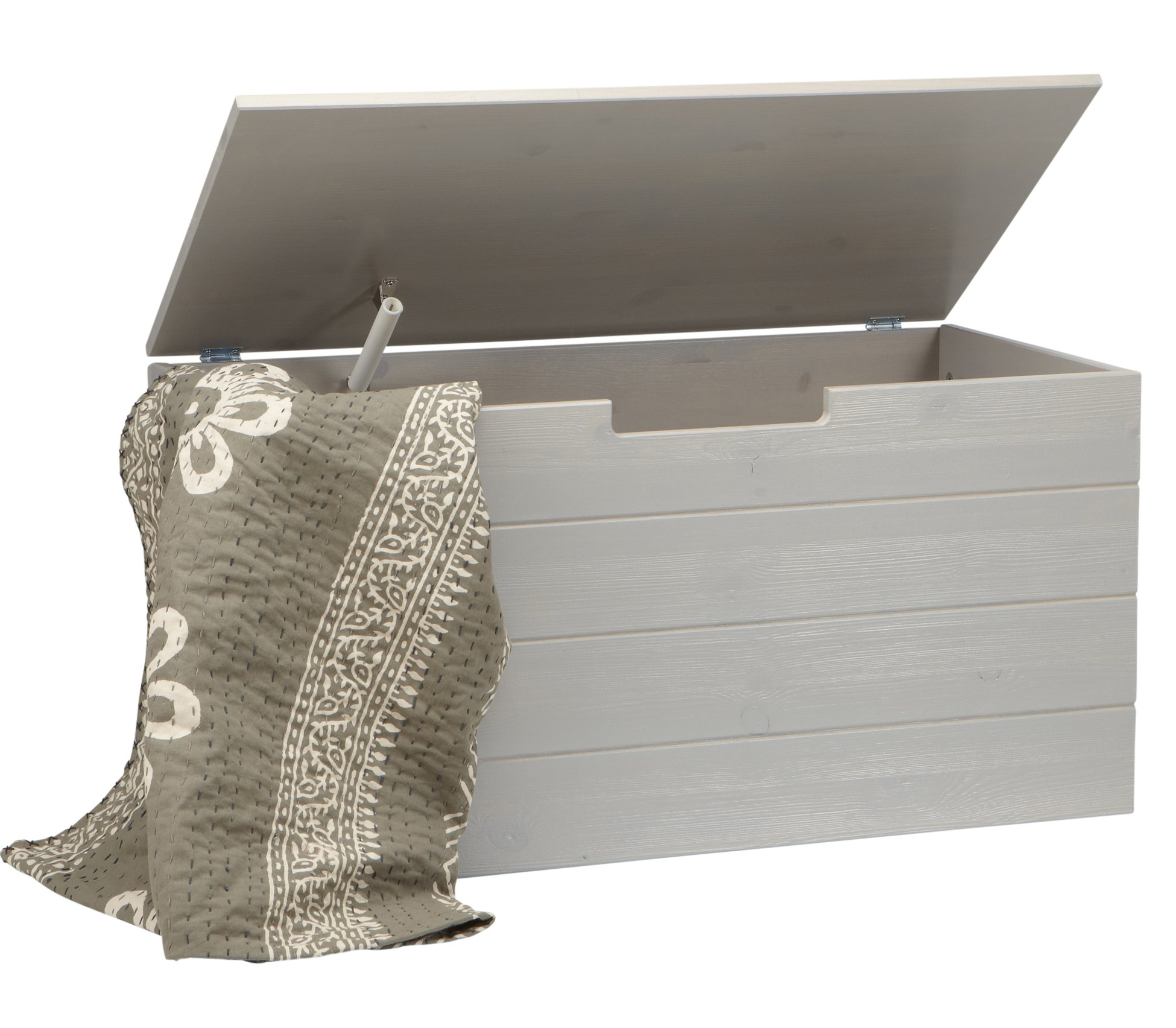 Mortimer Toy Box - Brushed Pebble Grey - Nest Designs