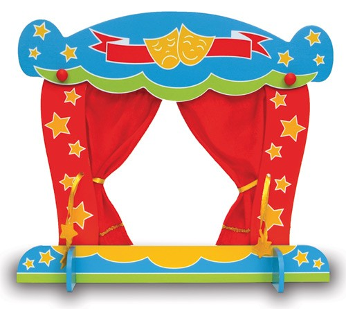 Finger Puppet Theatre - Nest Designs