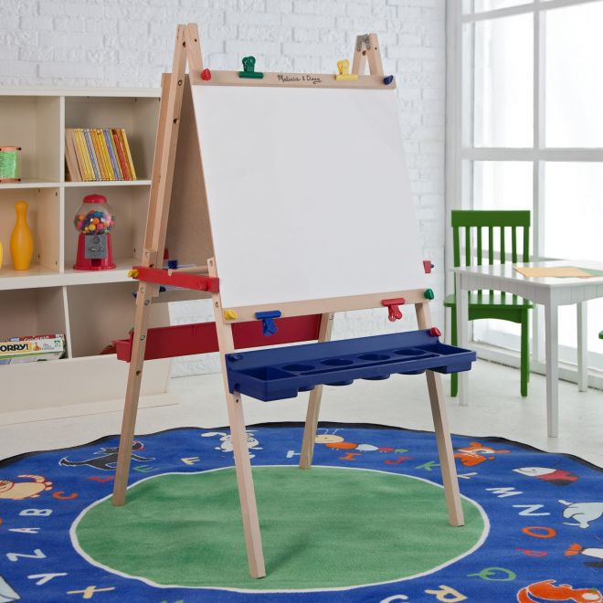 Deluxe Wooden Art Easel For Children Amp Kids In S A
