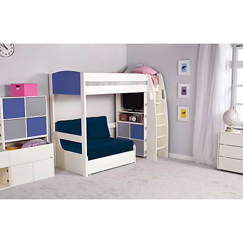 UNO S Highsleeper Bed col headboards & Sofa Bed by STOMPA