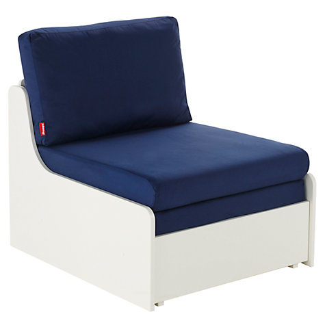 Single Chair Bed : UNO S Single Chair Bed, Sleepovers for Children, Blue use with ...