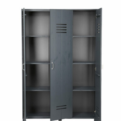 Locker Wardrobe - Brushed Dark Grey