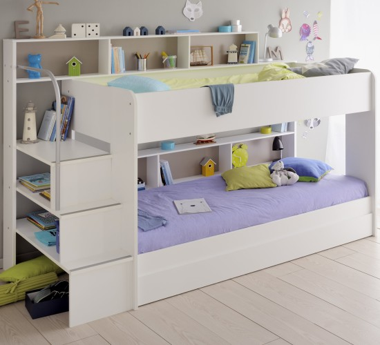 Anderson Bunk Bed - White