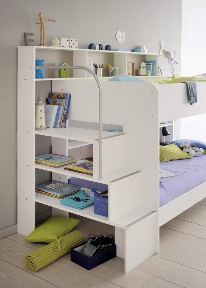 Anderson White Bunk Bed With Truckle For Children In S A