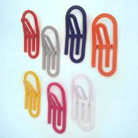 Giant-Paper-Clip-Wall-Hook-All colours for kids Children wall storage