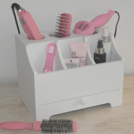 Hair Accessory Organiser, White