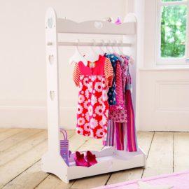 Heart Clothes Rail for kids children dressing up hanging kidsroom girls