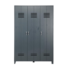 Locker Wardrobe, Grey