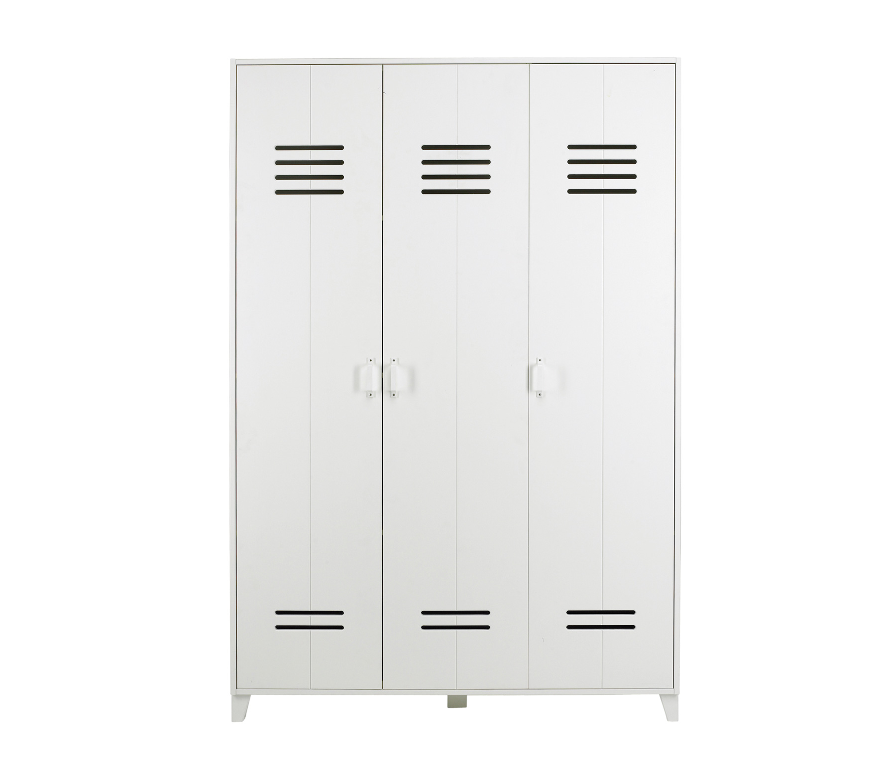 Locker Wardrobe Brushed White Nest Designs