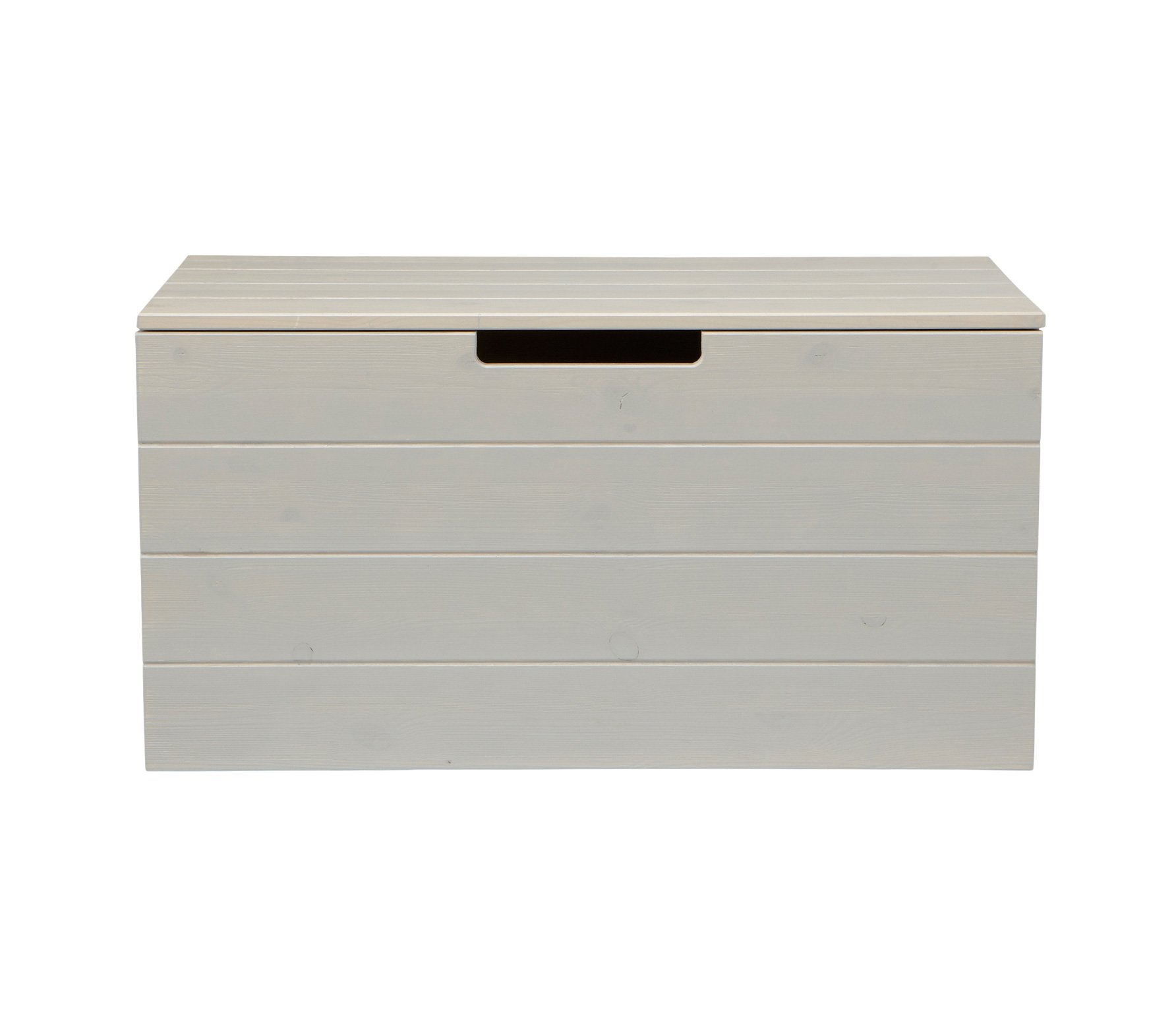 ... > STORAGE > All Storage > Mortimer Toy Box – Brushed Pebble Grey