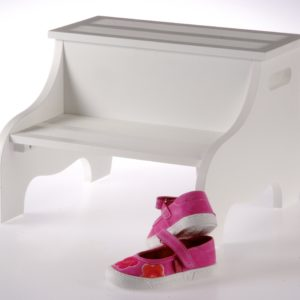 Safe Step Stool - White