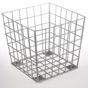 Wire Cube - Grey