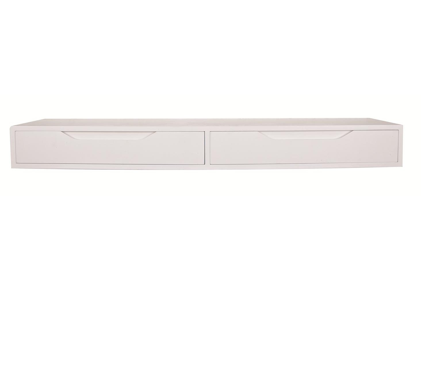 ... Products > STORAGE > All Storage > Wall Shelf with Drawers – White