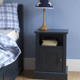 Charterhouse Nightstand, Prussian Blue