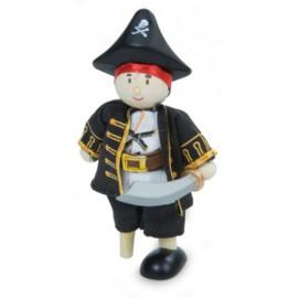 Pirate Captain Figure
