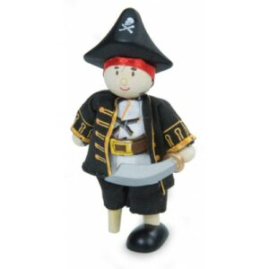 Pirate Captain Figure