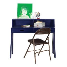 Max Desk, Brushed Dark Blue