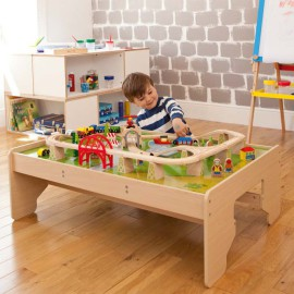 Services Train Set and Playtable Toys and Games for Kids