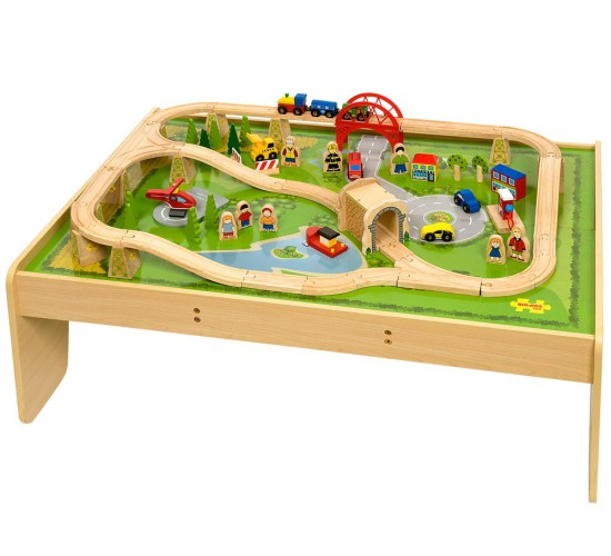 Services Train Set and Playtable