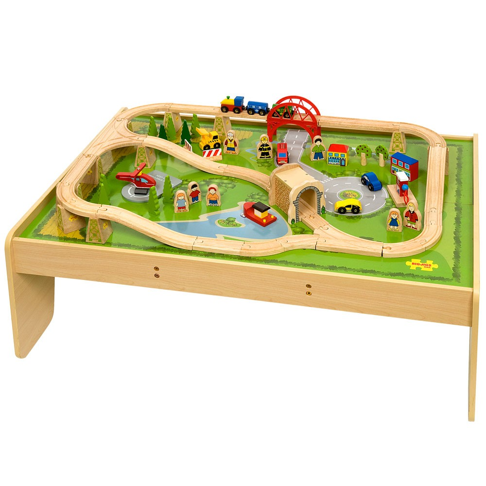 services train set playtable for children kids in s a. Black Bedroom Furniture Sets. Home Design Ideas