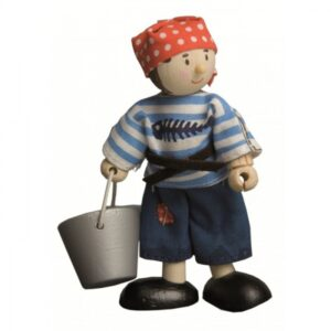 """Jacob"" Pirate Boy Figure"