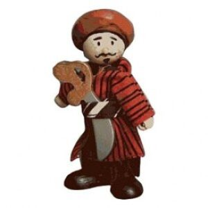 """Abdul"" Pirate Figure"