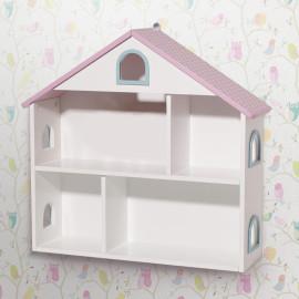 Dollshouse Wall Shelf Storage for Kids Bedroom Bookshelf