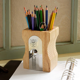 Giant Pencil Sharpener Pen Pot