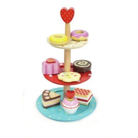 Honeybake 3 Tier Cake Stand by Le Toy Van Toys and Games