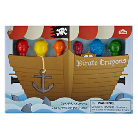 Pirate Crayons, Pack of 6