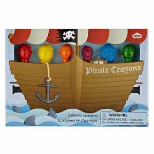 Pirate Crayons - Pack Of 6