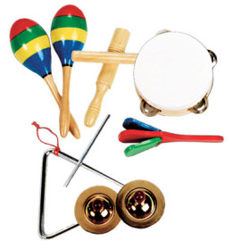 Band in a Box Musical Instruments for Kids by Melissa & Doug Toys & Games