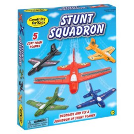 Creativity for Kids Stunt Squadron Craft Kit for Kids Toys and Games