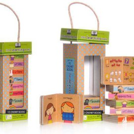 Little Books Learning Tower by Green Start for Kids