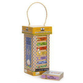 Little Books Nursery Rhymes Tower by Green Start for Kids