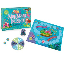Peaceable-Kingdom-Mermaid-Island-Cooperative-Game-for-Kids