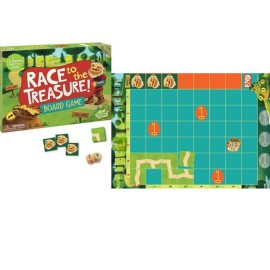 Race to the Treasure Children Cooperative Board Game Peaceable Kingdom
