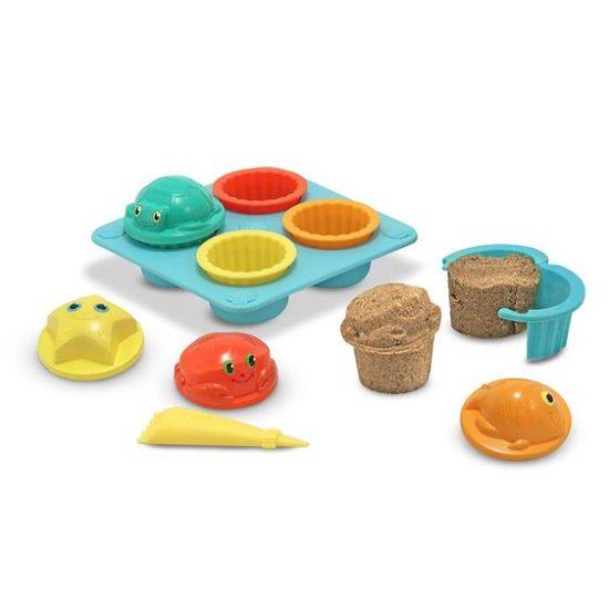 Seaside Sand Cupcake Set