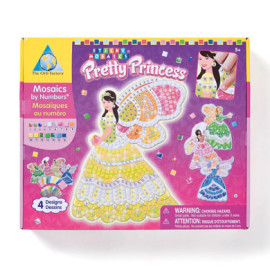 Sticky Mosaics Pretty Princess by The Orb Factory Toys and Games Arts and Crafts