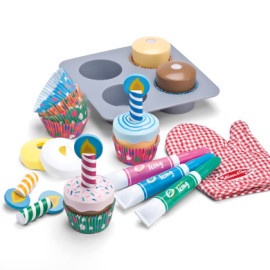 Decorate your own Cupcake Set by Melissa & Doug, Toys and Games