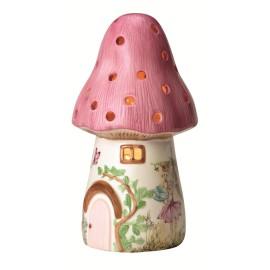 Dewdrop that Fairy Toadstool Nightlight for Children Pink