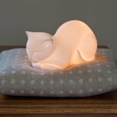 """Parsley"" Cat Night Light"