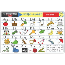 Write a Mat, Alphabet Fun Learning for Kids