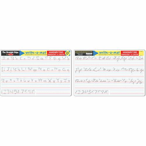 Write-A-Mat Handwriting