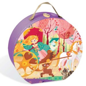 Princess & The Coach Boxed Puzzle