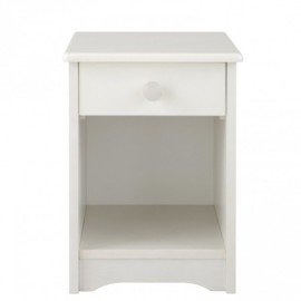 Stowford Nightstand, Silk White for Kids