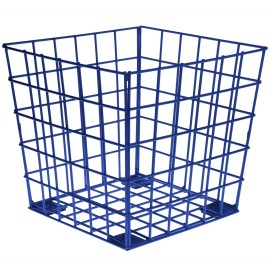 Blue Wire Cube, Storage for Kids