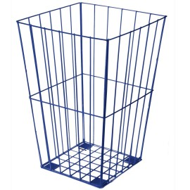 Blue Wire Sports Basket, Storage for Kids' Sports Equipment