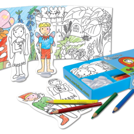 Fairies Carddies Colouring In Set, Arts and Crafts for Kids