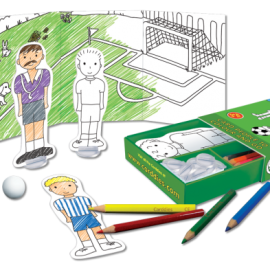 Football Colouring In Carddies Set, Arts & Crafts for Children